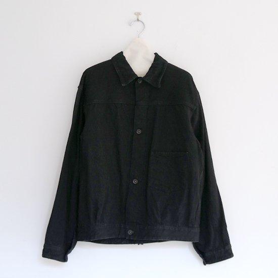 Comoli | デニムジャケット Black | F035192TJ106,202TJ128