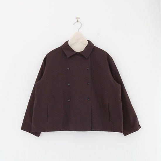 Atelier d'antan | ショートジャケット〈 Lotar 〉Brown | A232202TJ472