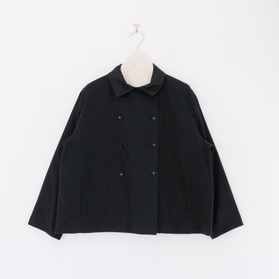 Atelier d'antan | ショートジャケット〈 Lotar 〉Black | A232202TJ472