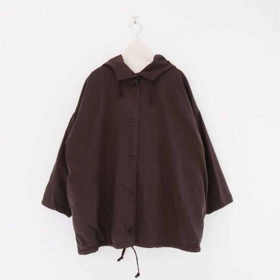 Atelier d'antan | フードジャケット〈 Fouillee 〉Brown | A232202TJ473