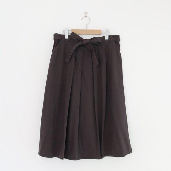 Atelier d'antan | リボンスカート〈 Certeau 〉Brown | A232202PS474