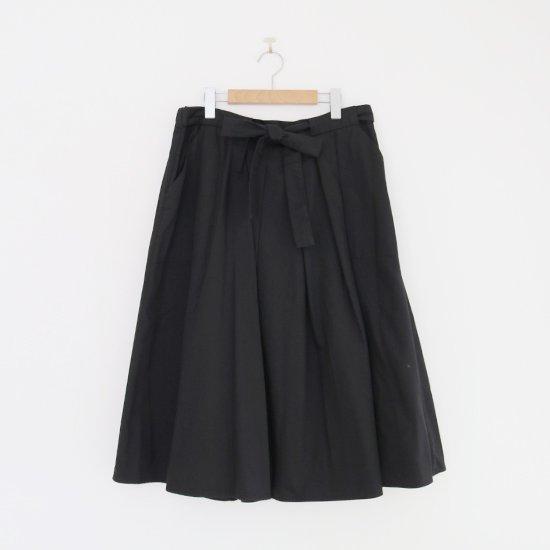 Atelier d'antan | リボンスカート〈 Certeau 〉Black | A232202PS474