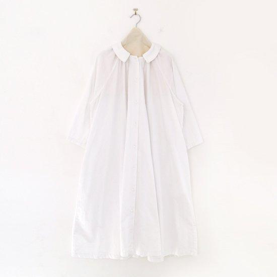 Atelier d'antan | ギャザーワンピース〈 Aimee 〉White | A232202TD471