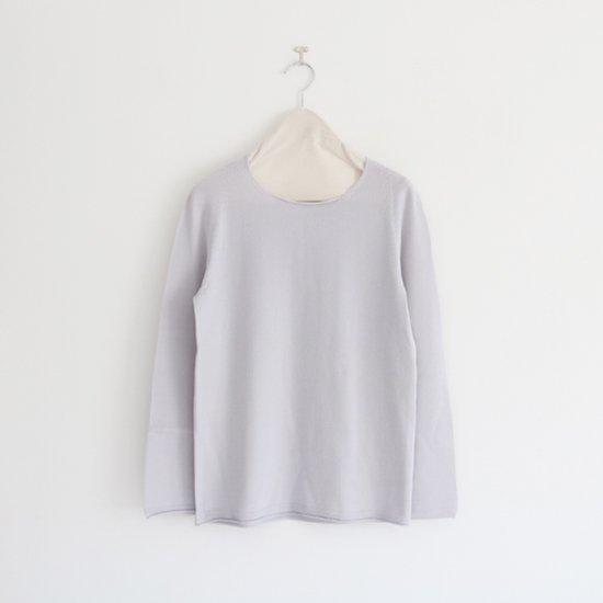 Yuri Park | メリノウールクルーネックニット〈 Mila-Wo 〉Grey | D010192TK239