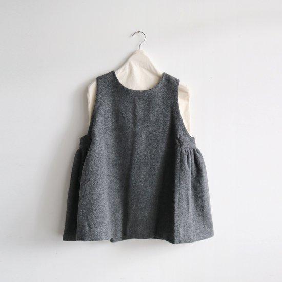 Atelier d'antan | ローデンクロスブラウス〈 Arbus 〉Grey | A232202TS461