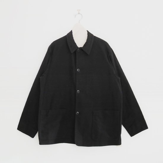 Comoli | モールスキンジャケット Black | F035202TJ136