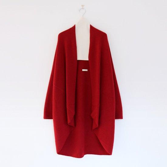 糸衣 | カシミヤローブ〈 Fuji 〉Red | E009182TK202