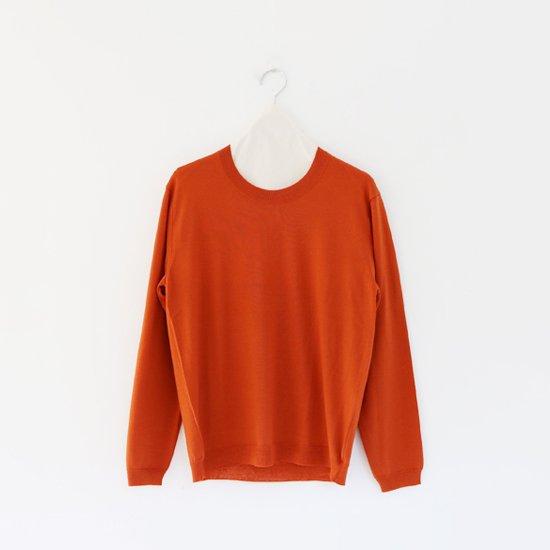 Charpentier de Vaisseau | ハイゲージウールニット〈 Kerry 〉Orange | C003182TK287