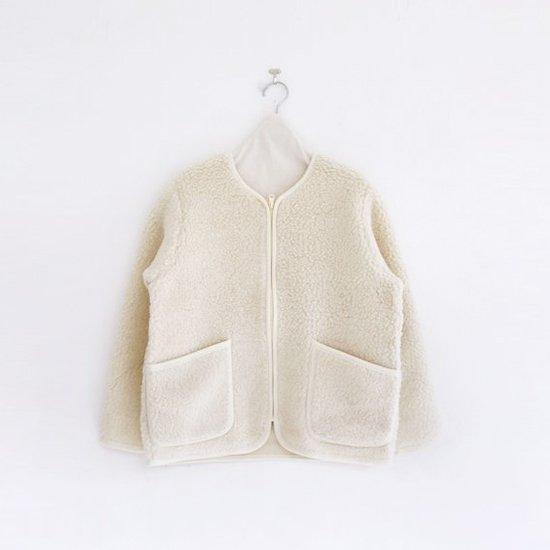 Cold Breaker | ウールフリースジャケット Natural | D104172TJ003