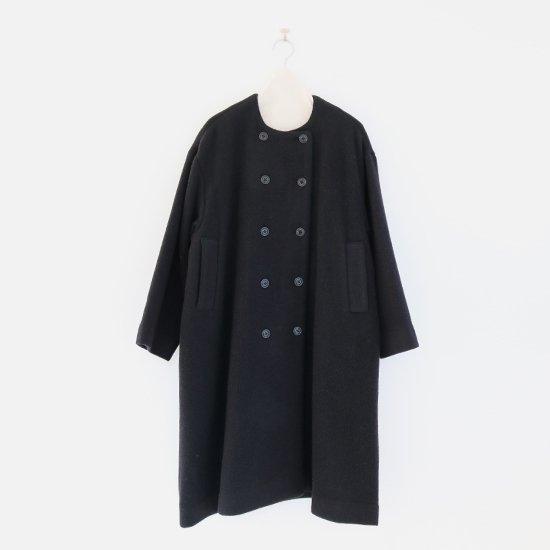 Atelier d'antan | ローデンウールダブルコート〈 Rudel 〉Black | A232202TC436