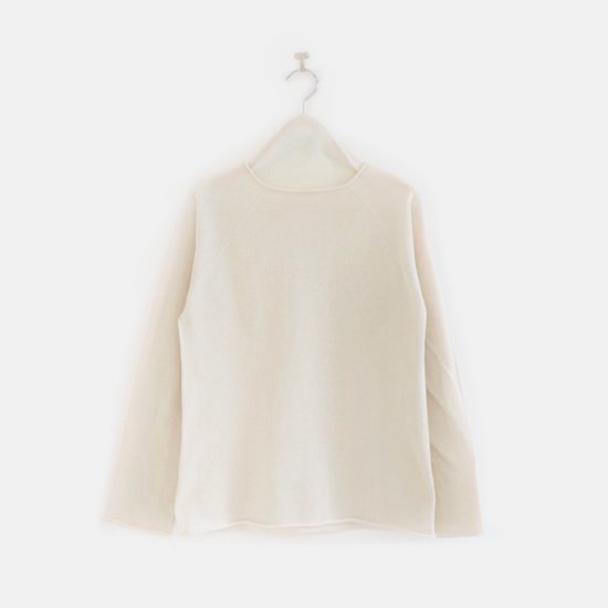 F/style <br/>Cotton Crew Knit / Natural