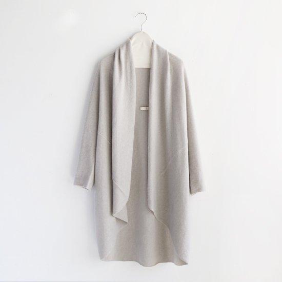 糸衣<br>カシミヤローブ<br>〈 Fuji 〉<br>Light Grey