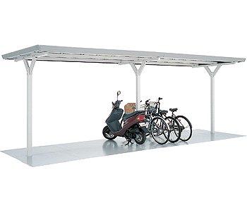 自転車の 自転車置場 イナバ : イナバ物置 バイク保管庫 ...