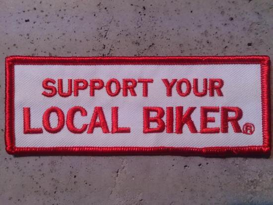 support your local biker patch chi chi s