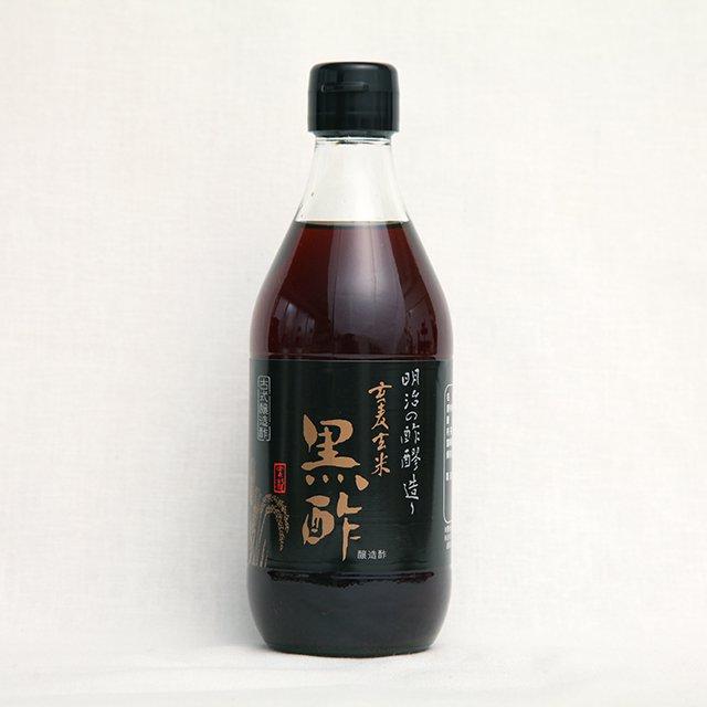 九州酢造<br>玄麦玄米黒酢<br>360ml