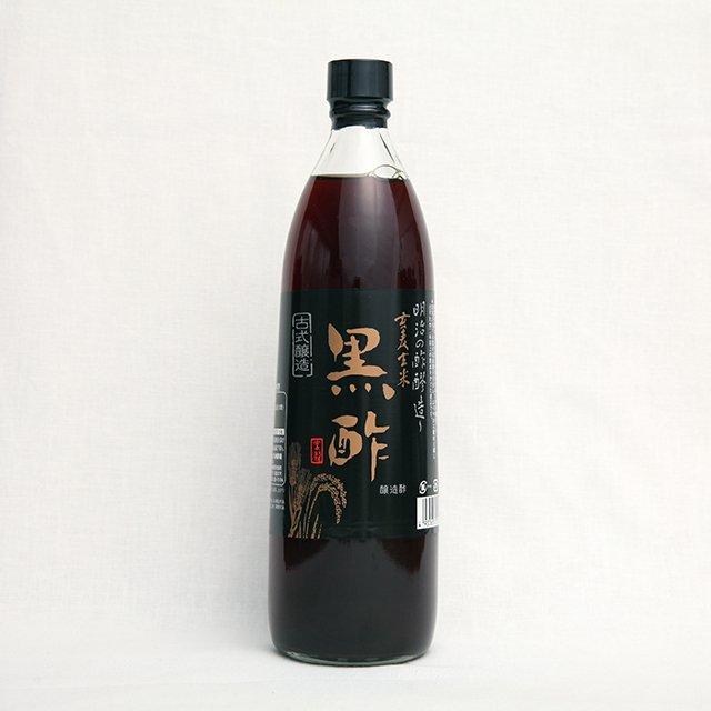 九州酢造<br>玄麦玄米黒酢<br>900ml