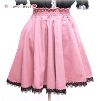 HowSweet*Dolly Circular Skirt*[pink]