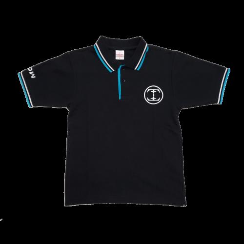 TDW サークルロゴ ドライポロシャツ ブラック