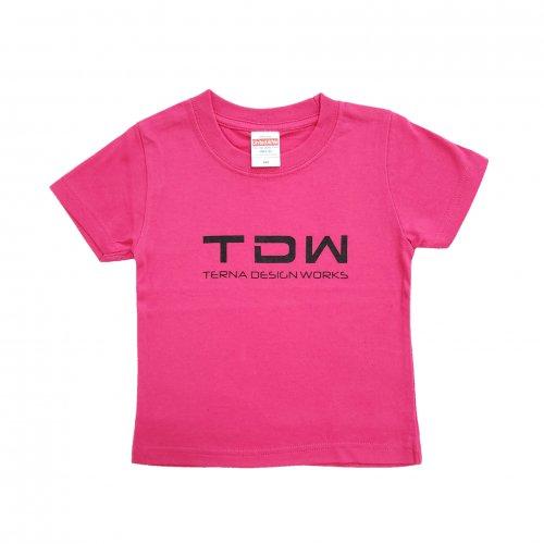 TDW キッズTシャツ ピンク