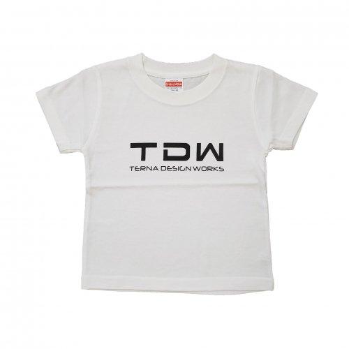 TDW キッズTシャツ ホワイト