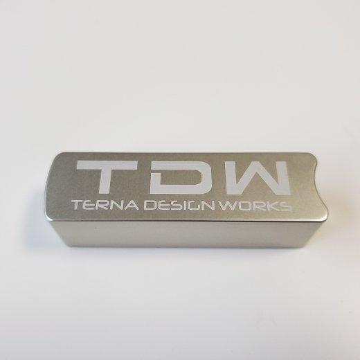 TDW ハイエース専用 サイドブレーキカバー シルバー