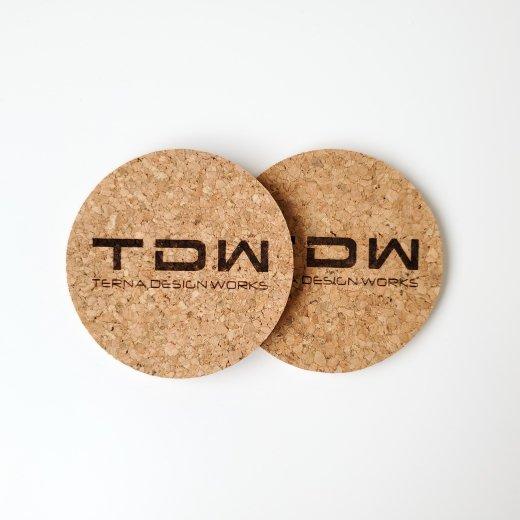 TDW ロゴ コースター