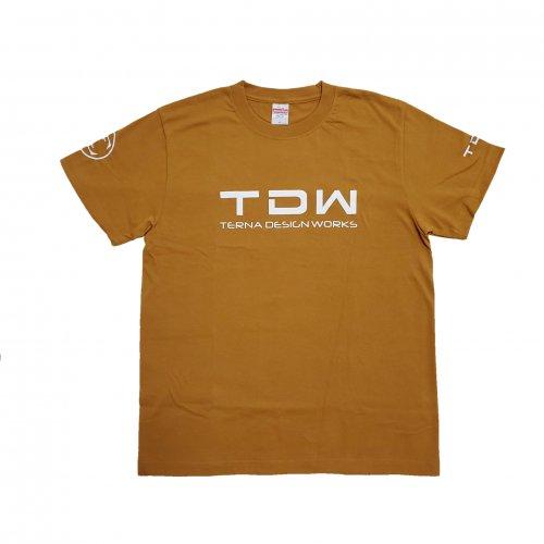 TDW プレミアムTシャツ キャメル