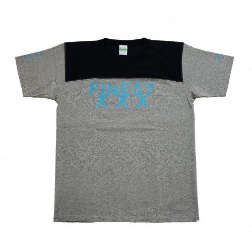 TDW FINESTロゴ プレミアムTシャツ グレー