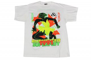 VINTAGE Budweiser Superfest 1991 T-SHIRT  (LL COOL J��WHITNEY HOUSTON��BBD��KEITH SWEAT etc T�����)