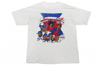 VINTAGE Budweiser Superfest 1990 T-SHIRT  (Bell Biv DeVoe��Tony Toni Tone��Luther Vandross etc T�����)