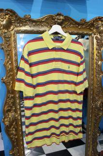 POLO  RALPH LAUREN BORDER POLO SHIRTS