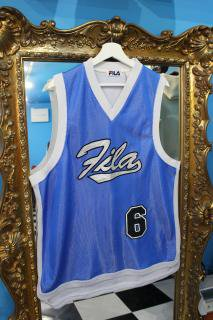 <img class='new_mark_img1' src='//img.shop-pro.jp/img/new/icons20.gif' style='border:none;display:inline;margin:0px;padding:0px;width:auto;' />FILA BASKETBALL SHIRTS(フィラ バスケ ゲーム シャツ)
