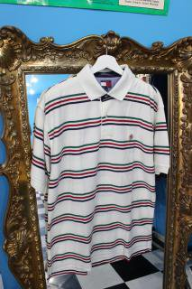 90's TOMMY HILFIGER POLO SHIRT(トミー ポロシャツ)