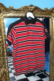 POLO SPORT BORDER WAPPEN POLO SHIRT