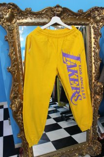 NBA LOS ANGELS LAKERS SWEAT PANTS