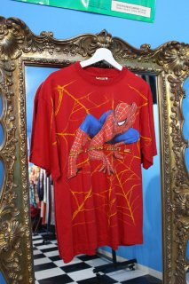 <img class='new_mark_img1' src='//img.shop-pro.jp/img/new/icons20.gif' style='border:none;display:inline;margin:0px;padding:0px;width:auto;' />THE SPIDER MAN 2 T-SHIRT(スパイダーマン 2 Tシャツ)