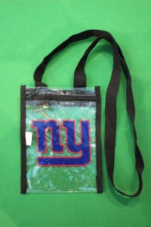 <img class='new_mark_img1' src='//img.shop-pro.jp/img/new/icons20.gif' style='border:none;display:inline;margin:0px;padding:0px;width:auto;' />NFL NEWYORK GIANTS CLEAR POUCH(ジャイアンツ クリア ポーチ)