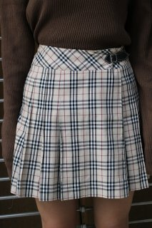 LADIES BURBERRY CHECK SKIRT(バーバリー チェック スカート)