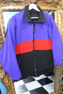 HELLY HANSEN REVERSIBLE FLEECE NYLON JACKET BLUE/BLACK(ヘリハン リバーシブル ジャケット)
