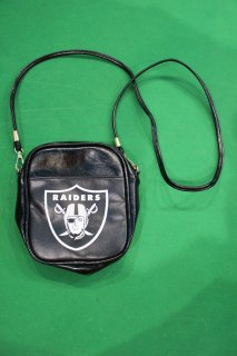 NFL OAKLAND RAIDERS LEATHER POUCH(レイダース レザー ポーチ)