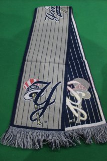 <img class='new_mark_img1' src='//img.shop-pro.jp/img/new/icons20.gif' style='border:none;display:inline;margin:0px;padding:0px;width:auto;' />MLB NEW YORK YANKEES MUFFLER(ヤンキース マフラー)