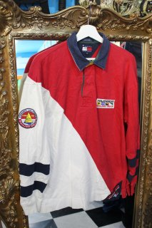 TOMMY HILFIGER SAILING GEAR L/S SHIRT(トミーヒルフィガー シャツ)