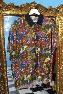 FLOWER RAYON S/S SHIRT(花柄 レーヨン シャツ)
