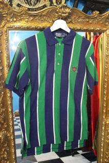 POLO BY RALPH LAUREN STRIPE S/S GOLF POLO SHIRT(ラルフ ストライプ ポロシャツ)