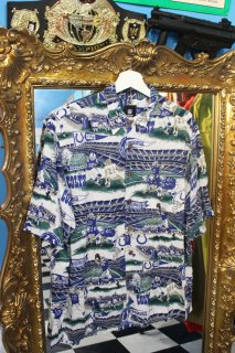 NFL INDIANAPOLIS COLTS FLAG S/S SHIRT(NFL インディアナポリス コルツ フラッグ柄 シャツ)