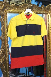 <img class='new_mark_img1' src='//img.shop-pro.jp/img/new/icons20.gif' style='border:none;display:inline;margin:0px;padding:0px;width:auto;' />NAUTICA BORDER POLO SHIRT(ノーティカ ポロシャツ)