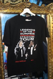 JUSTIN TIMBERLAKE×JAY-Z OFFICIAL TOUR T-SHIRT(ジャスティン×ジェイZ ツアー Tシャツ)