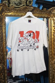 <img class='new_mark_img1' src='//img.shop-pro.jp/img/new/icons20.gif' style='border:none;display:inline;margin:0px;padding:0px;width:auto;' />101 DALMATIANS T-SHIRT(101匹 ワンちゃん Tシャツ)