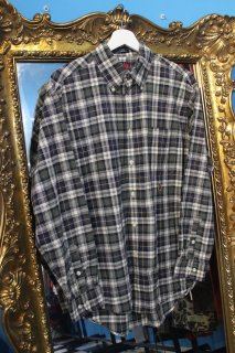 TOMMY HILFIGER CHECK COTTON L/S SHIRT(トミー チェック コットン 長袖シャツ)