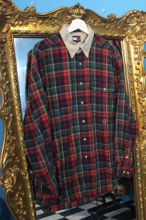 TOMMY HILFIGER FLANNEL CHECK L/S SHIRT(トミー チェック ネルシャツ)